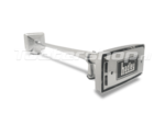 Hadley H00978 High tone Ambassador rectangular