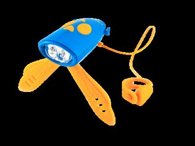 Mini Hornit Blau Orange