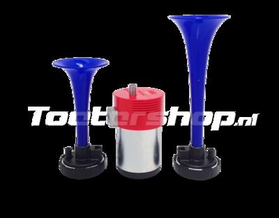 Blaues Autohupenset M4/TA2-BLU Fiamm