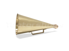 Roeptoeter messing megafoon