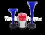 Fiamm M4 TA2 BLU dubbele luchthoorn met compressor 12v